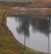 Dam prior to rain