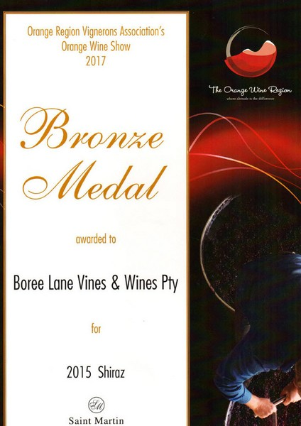 Bronze 2015 Shiraz