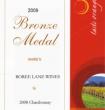 Bronze Medal 2008 Chardonnay