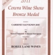 Bronze Medal 2010 Cabernet Sauvignon