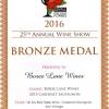 Bronze 2015 Cabernet Sauvignon