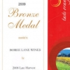 Bronze Medal 2008 Fortified Sauvignon Blanc