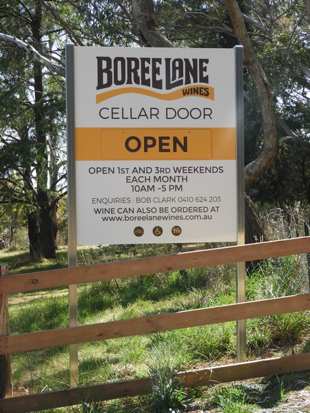 Following on from our official opening these are the dates we will be open. On Saturday 13th October between 10 am and 3pm we will be busy preparing for ... & Cellar Door Opening and Trading Hours | Boree Lane Wines