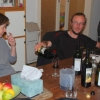 Wine tasting update with Chris and Lucy