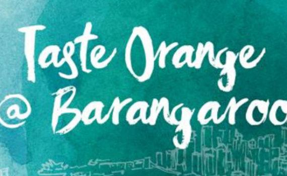 Taste Orange @ Barangaroo banner